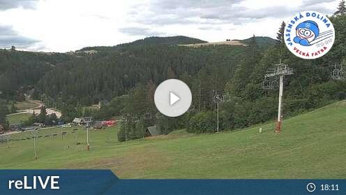 Webcam Ski Resort Jasenska Dolina cam 2 - Greater Fatra