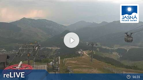 Webcam Ski Resort Chopok South Lukova - Low Tatras