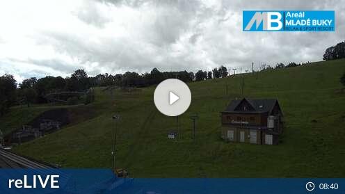 Webcam Skigebiet Mlade Buky cam 3 - Riesengebirge