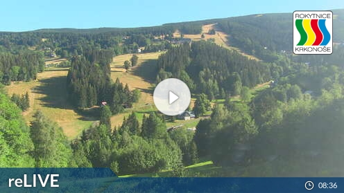 Webcam Ski Resort Rokytnice n. Jizerou cam 2 - Giant Mountains
