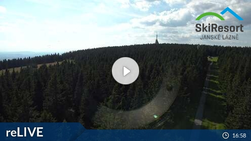 Webcam Ski Resort Janske Lazne Cerna hora - Giant Mountains