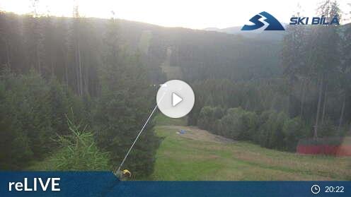 Webcam Skigebiet Bila cam 2 - Beskiden