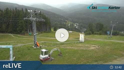 Webcam Skigebiet Mala Moravka - Karlov cam 3 - Altvatergebirge