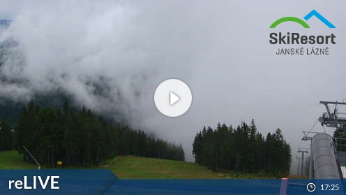Webcam Ski Resort Janske Lazne Hofmanky - Giant Mountains