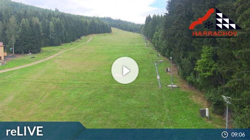Webcam Skigebiet Harrachov cam 10 - Riesengebirge