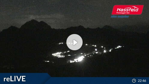 Webcam Ski Resort Nassfeld-Hermagor Gartnerkofel - Carinthia