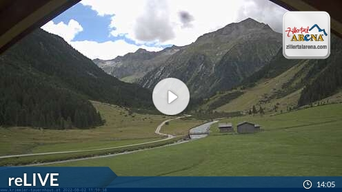 Webcam Ski Resort Zell am Ziller Tauernhaus - Tyrol