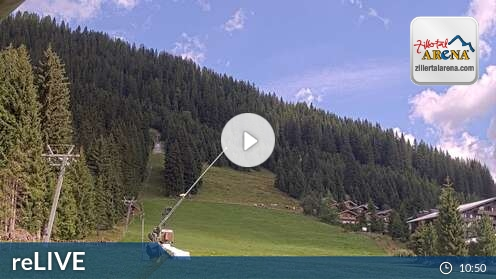 Webcam Ski Resort Zell am Ziller Märchenwald - Tyrol