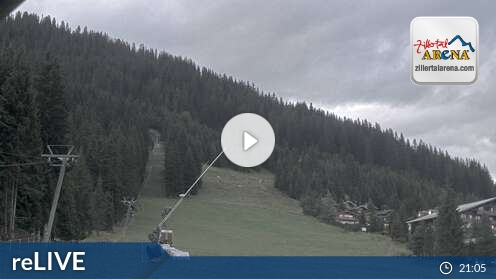 Webcam Skigebiet Zell am Ziller Märchenwald - Tirol