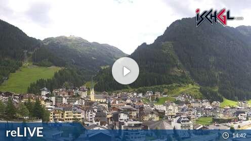 Webcam Skigebiet Ischgl - Silvretta Arena Dorf - Tirol
