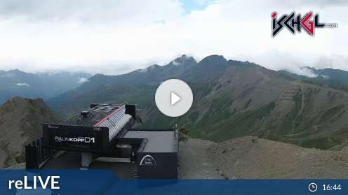 Webcam Skigebiet Ischgl - Silvretta Arena Palinkopf - Tirol