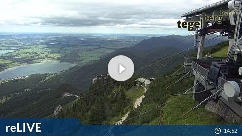Webcam Tegelberg Skigebiet Schwangau - Tegelberg Allgäu