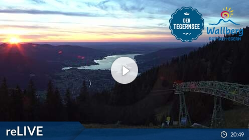 Webcam Wallbergbahn Ski Resort Spitzingsee-Tegernsee Bavaria Alps - Upper Bavaria