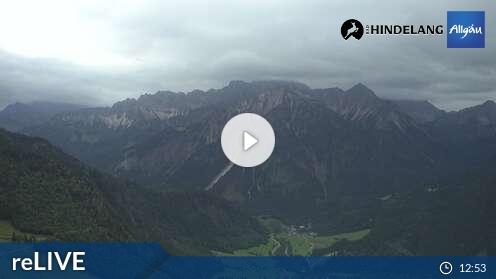 Webcam Skigebiet Bad Hindelang - Oberjoch cam 5 - Allgäu