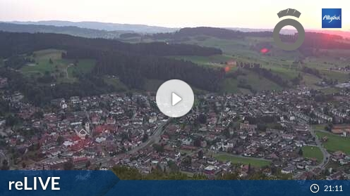 Webcam Skigebiet Oberstaufen - Hochgrat Oberstaufen - Allgäu