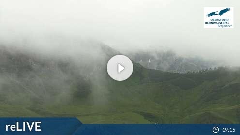 Webcam Kanzelwand/Fellhorn Skigebiet Kleinwalsertal - Ifen Voralberg