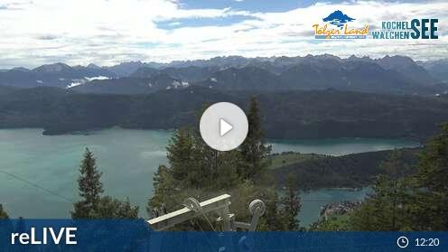 Webcam Skigebiet Kochel - Pessenbach cam 2 - Oberbayern