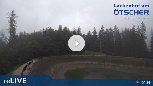 Webcam Bergstation Skigebiet Lackenhof - Ötscher Niederösterreich