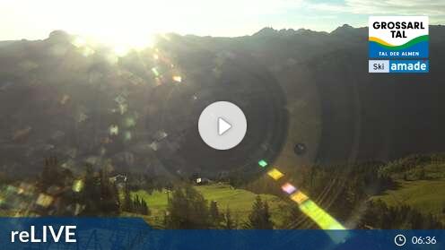 Ski amadé - Grossarl Dorfgastein - Bergstation 6er Sesselbahn Harbach