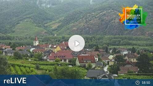 Webcam Blick auf Dürnstein von Rossatz
