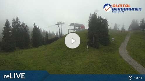 Webcam Kasberg Skigebiet Kasberg - Gr�nau Ober�sterreich