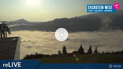 Webcam Zwieselalm Ski Resort Dachstein West - Gosau Upper Austria