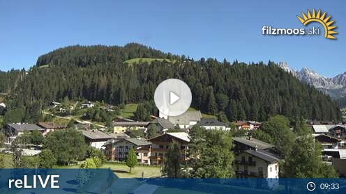 Webcam Papageno Skigebiet Filzmoos Salzburger Land
