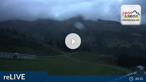 Webcam Ski Resort Zell am Ziller Isskogel - Tyrol