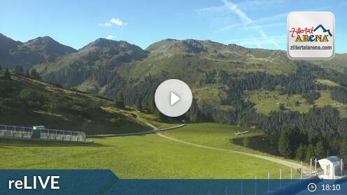 Webcam Skigebiet Zell am Ziller Isskogel - Tirol