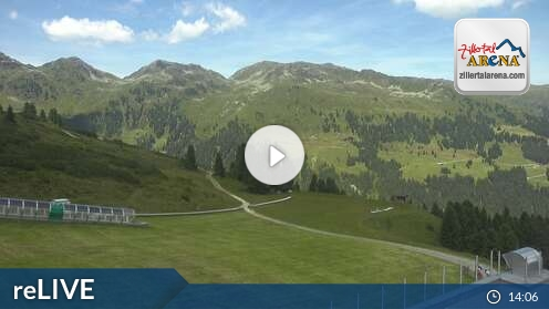 Webcam Isskogel Ski Resort Gerlos Tyrol