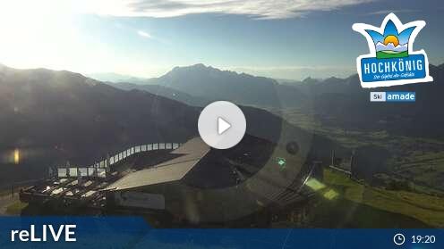 Ski amadé - Hochkönig - Maria Alm - Aberg Bergstation