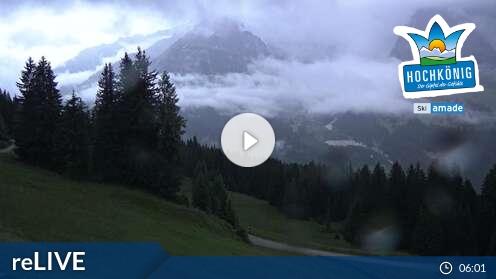 Webcam Karbachalm Skigebiet Hochkönig - Maria Alm Salzburger Land