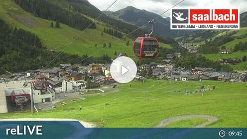 Webkamera Skicircus Saalbach Hinterglemm Leogang Fieberbrunn