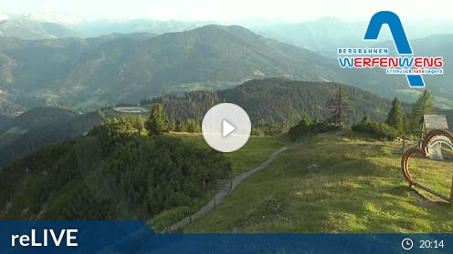 Webcam Skigebiet Werfenweng Bischling - Salzburger Land
