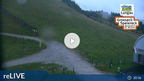 Webcam Großeck Sender Bergstation Skigebiet Grosseck - Speiereck Salzburger Land