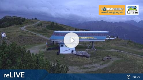 Webcam Bergstation Skigebiet Fanningberg Salzburger Land