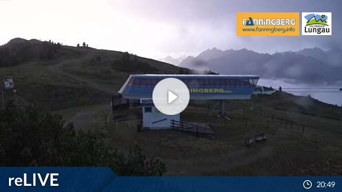 Webcam Bergstation Ski Resort Fanningberg Salzburg