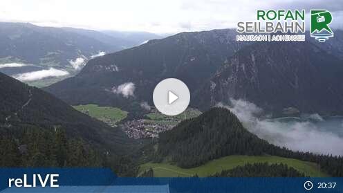 Webcam Rofan Skigebiet Maurach - Rofan Tirol