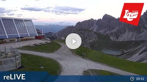 Webcam Hoadl-Haus Skigebiet Axamer Lizum Tirol