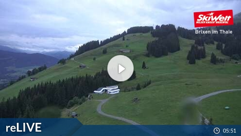 Webcam Skigebiet Scheffau Bergstation - Tirol