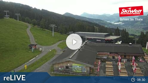 Webcam Bergstation Skigebiet Scheffau Tirol