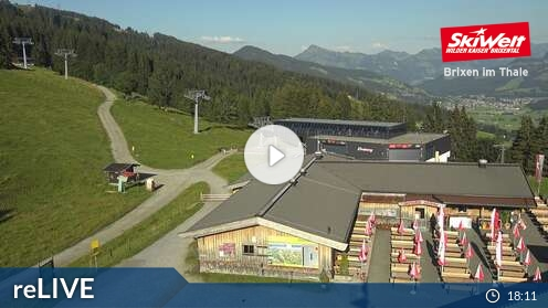 Webcam Skigebiet Söll Bergstation - Tirol