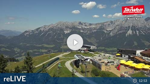 Webcam Ski Resort Going Hartkaiserbahn - Tyrol