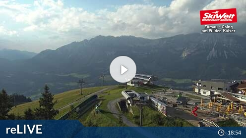 Webcam Skigebied Going Hartkaiserbahn - Tirol