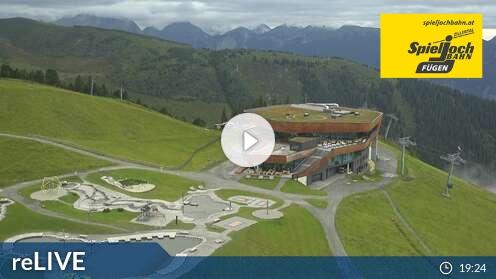 Webcam Onkeljoch Skigebiet Fügen - Spieljoch Tirol
