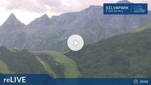 Webcam Kopssee Skigebiet Bielerh�he - Partenen Voralberg