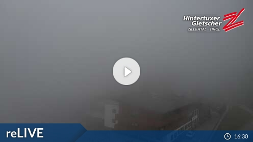 Webkamera Ledovec Hintertux