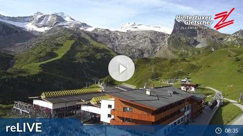 Webcam Sommerberg Skigebiet Hintertuxer Gletscher Tirol