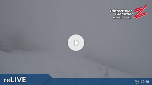 Hintertuxer Gletscher - Gefrorene Wand