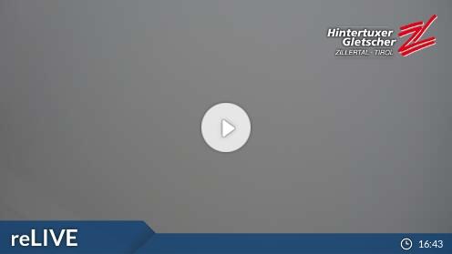 Webcam Skigebiet Hintertuxer Gletscher Gefrorene Wand - Tirol